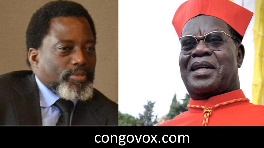 Joseph Kabila et Le Cardinal Laurent Monsengwo