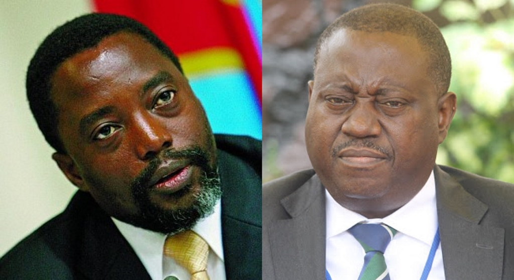 Joseph Kabila et Richard Muyez