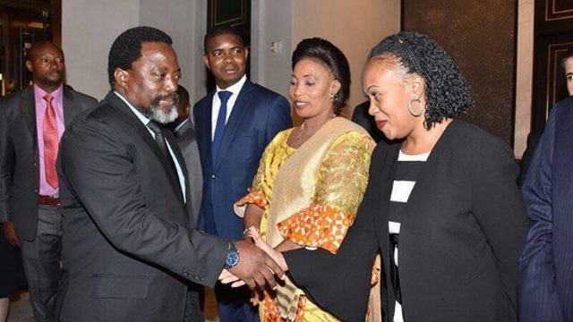 Joseph Kabila à New York