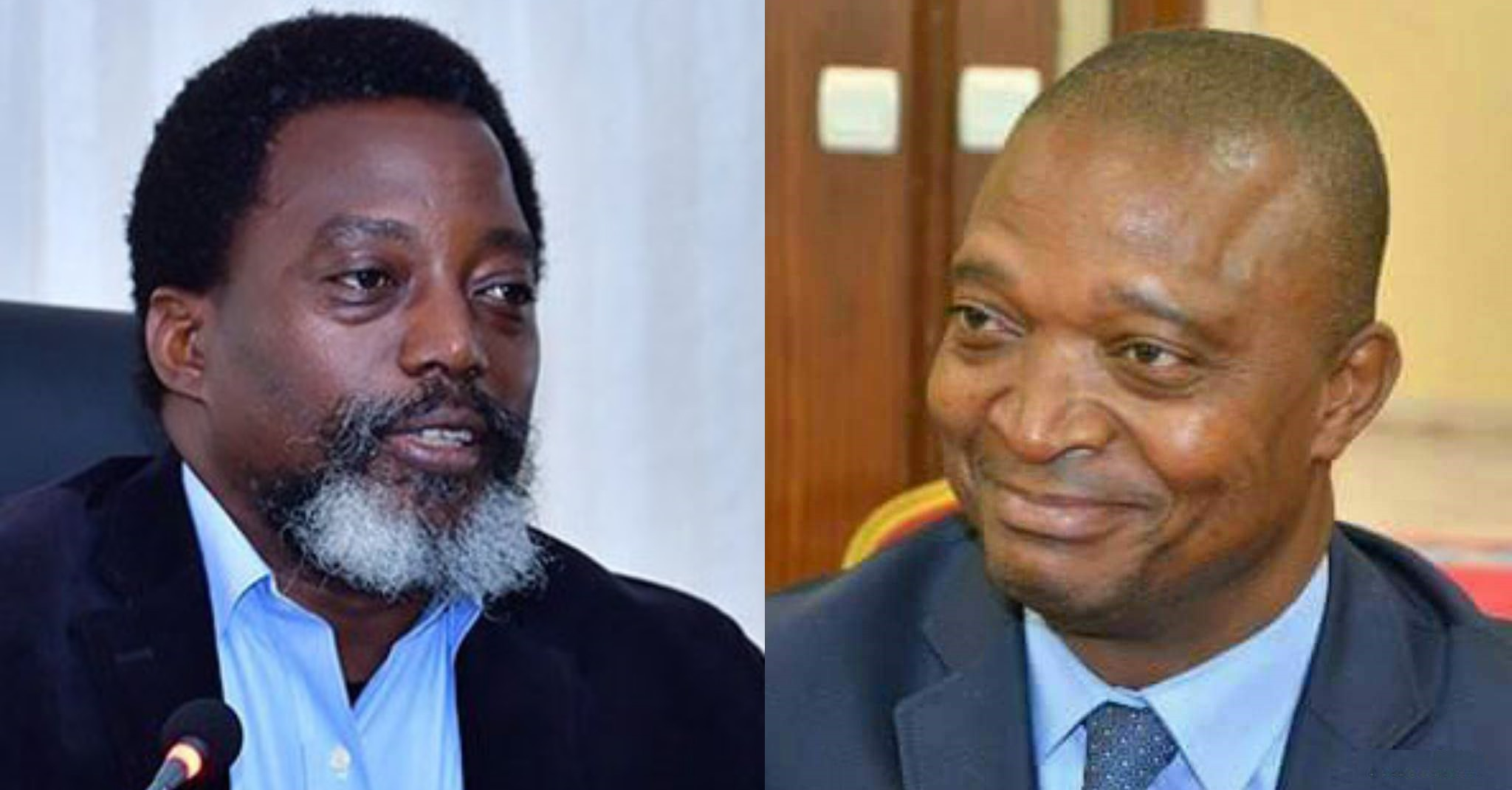 Joseph Kabila et son dauphin, Ramazani Shadary