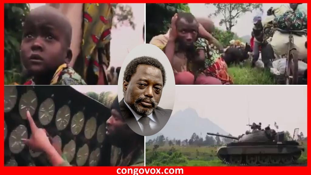 La population et les enfants à l'Est DR Congo vivent le terrorisme d'Etat au Quotidien