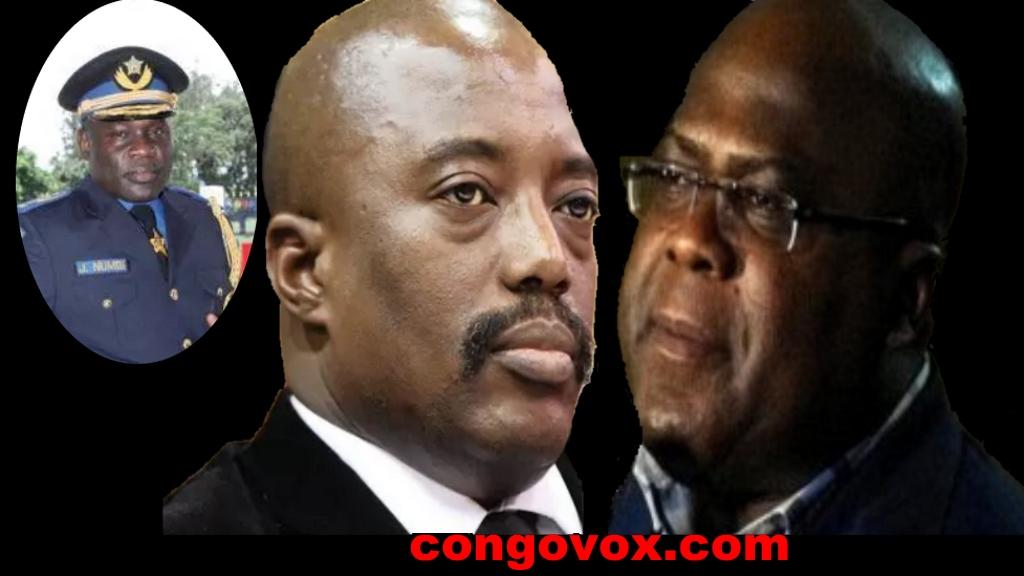 General John Numbi, Joseph Kabila, Felix Tshisekedi