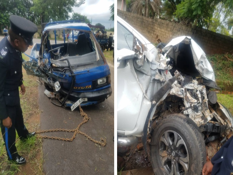 Accident en Zambie du cortege de Kabila