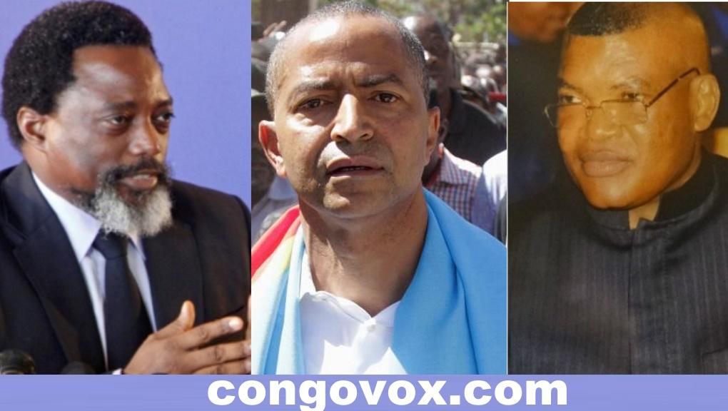 Joseph Kabila, Moise Katumbi et Kalev Mutond