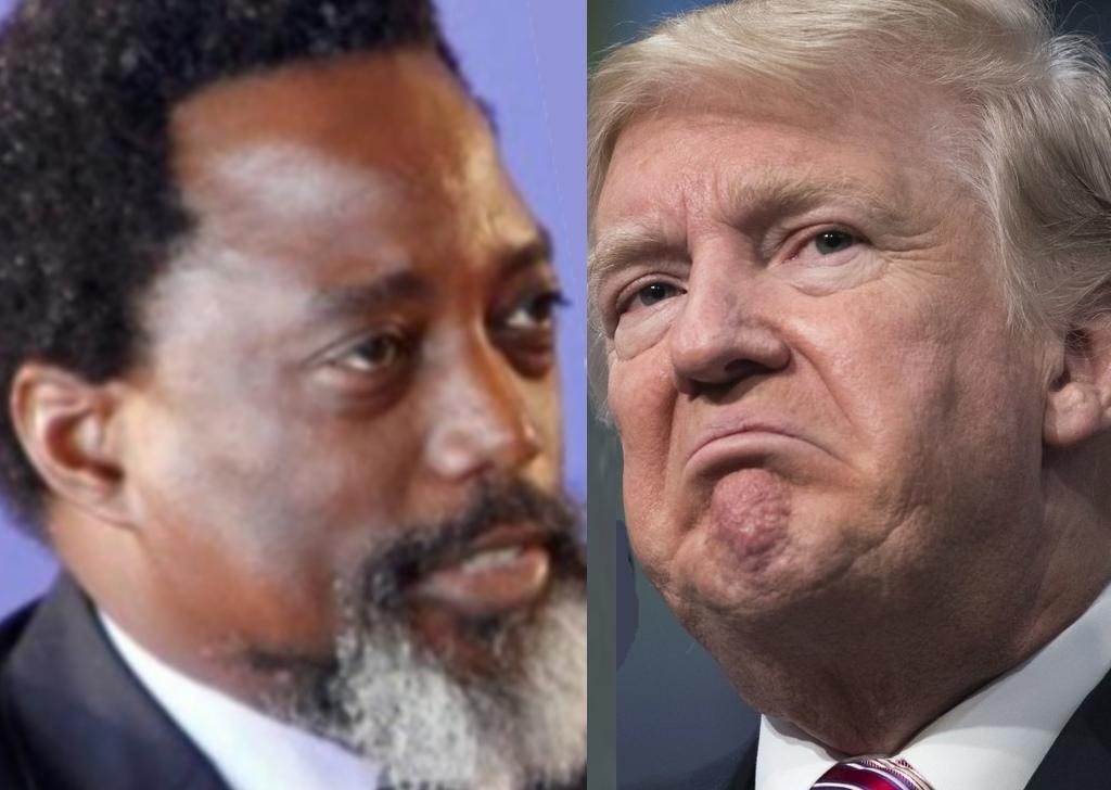 Joseph Kabila s'en fout de Donal Trump.