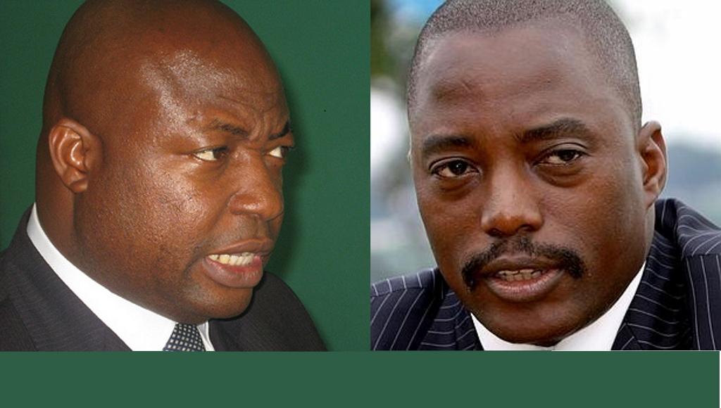 Clement Kanku et Joseph Kabila