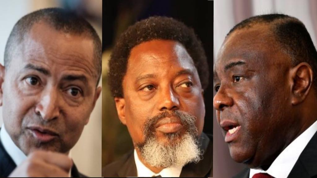 Moise Katumbi, Joseph Kabila, Jean Pierre Bemba