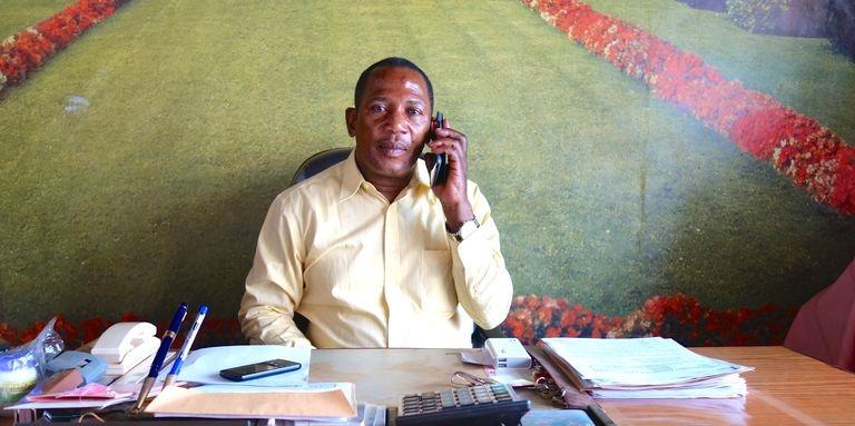 Katembe Kahehero, l'un des millionnaires de Butembo, au Nord-Kivu, à l'est de la République démocratique du Congo. Crédits : Le Monde Afrique