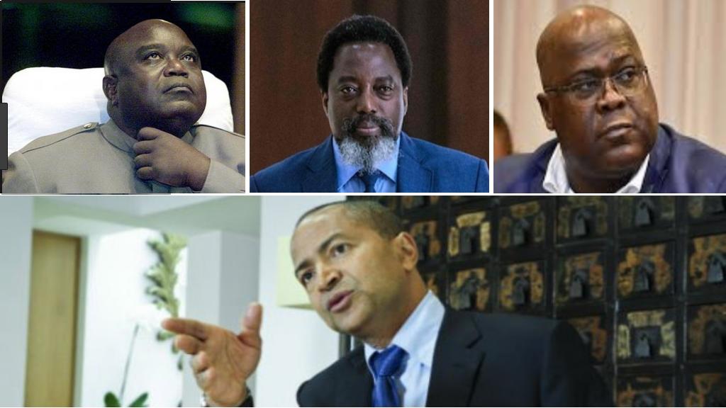 laurent Desire Kabila, Joseph Kabila, Felix Tshisekedi et Moise Katumbi