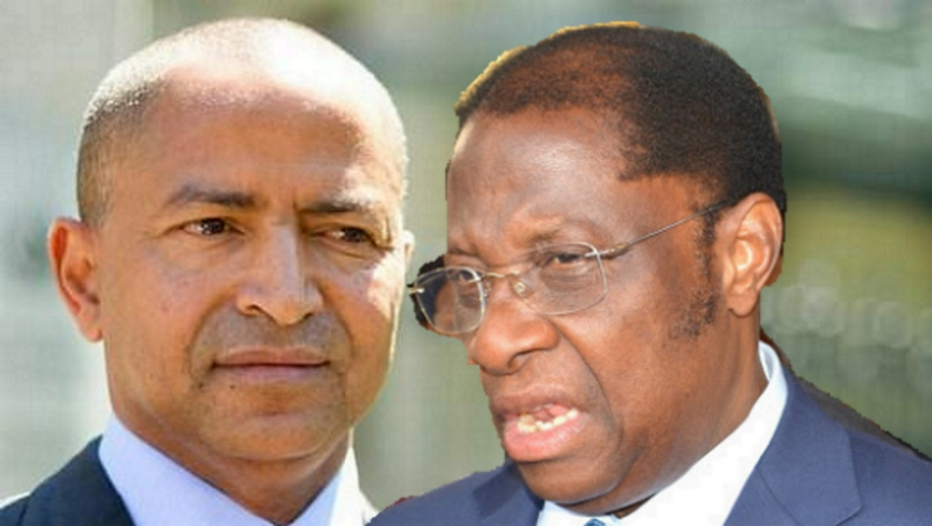Moise Katumbi et Alexis Tambwe Mwamba