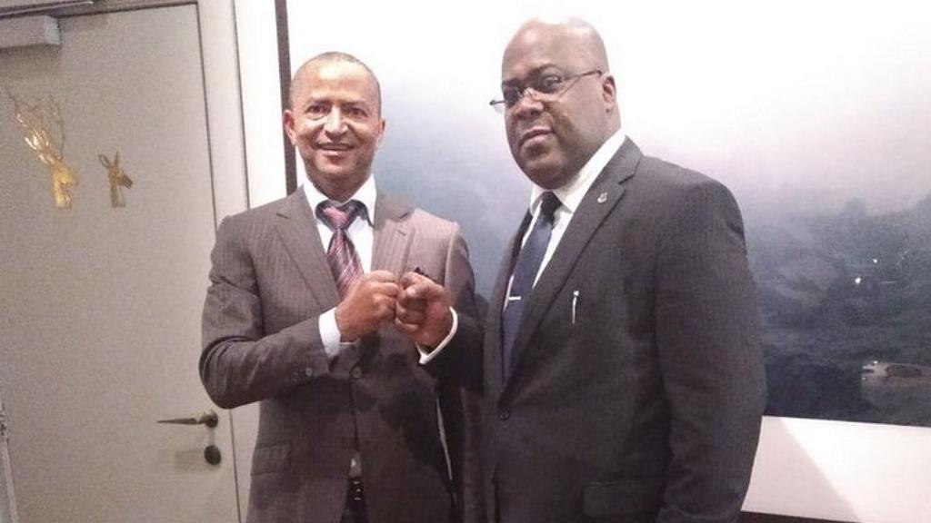Moise Katumbi et Felix Tshisekedi