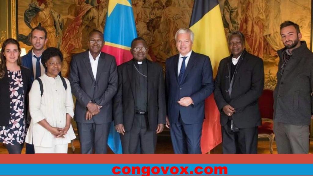 Les Eveques de la CENCO et Mr. Reynders