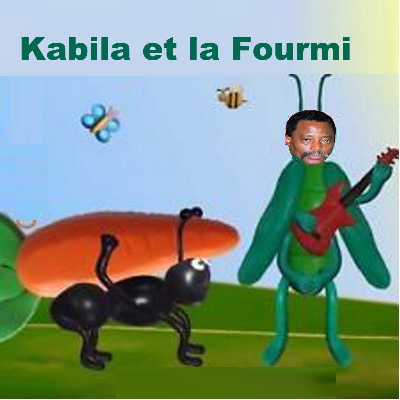 Joseph Kabila et la Fourmi
