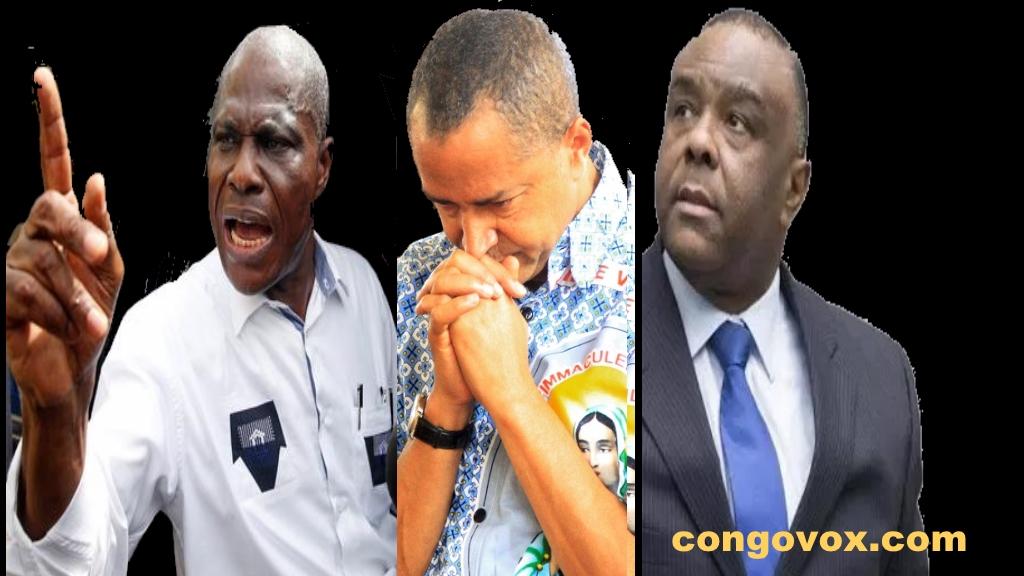 Martin Fayulu, Moise Katumbi et Jean-Pierre Bemba