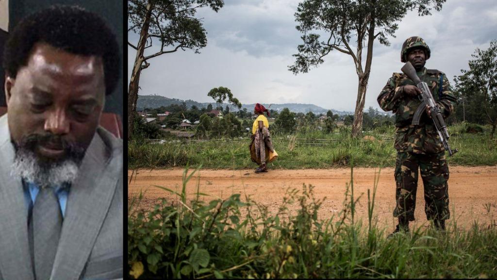Une femme passe devant un soldat des Nations Unies à Beni, en République démocratique du Congo, le 13 novembre. (John Wessels / AFP / Getty Images)
