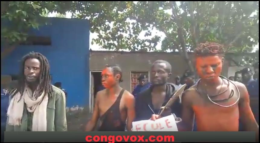 Les jeunes artistes heros de Goma