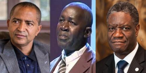 MoiseKatumbi Tchapwe, Pierre-Claver Mbonimpa , Dr. Denis Mukwege