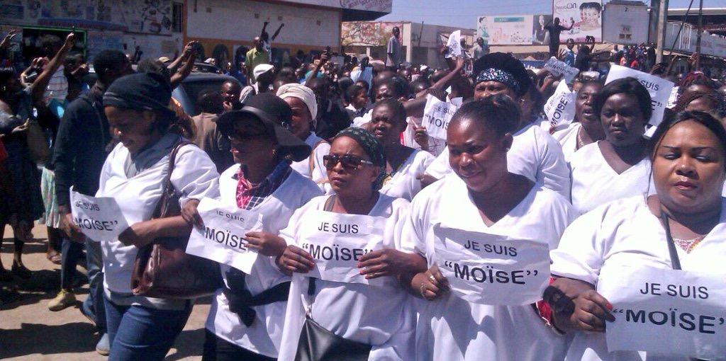 Les mamans tabassées a Lubumbashi par la Police du despoteJoseph Kabila