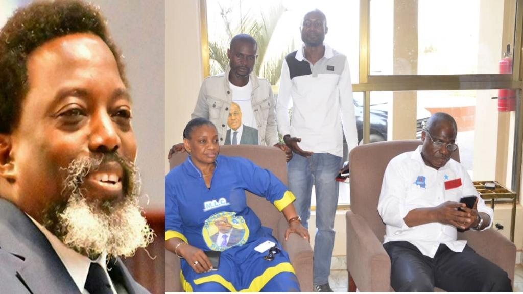 Joseph Kabila, Eve Bazaiba, Martin Fayulu