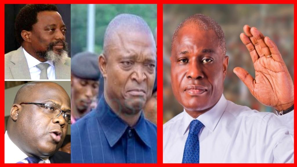 Joseph Kabila, Martin Fayulu, Felix Tshisekedi contre Martin Fayulu