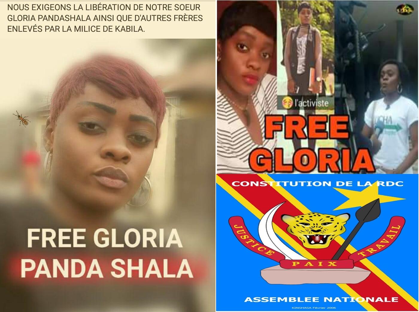 Gloria, activiste de la Lucha