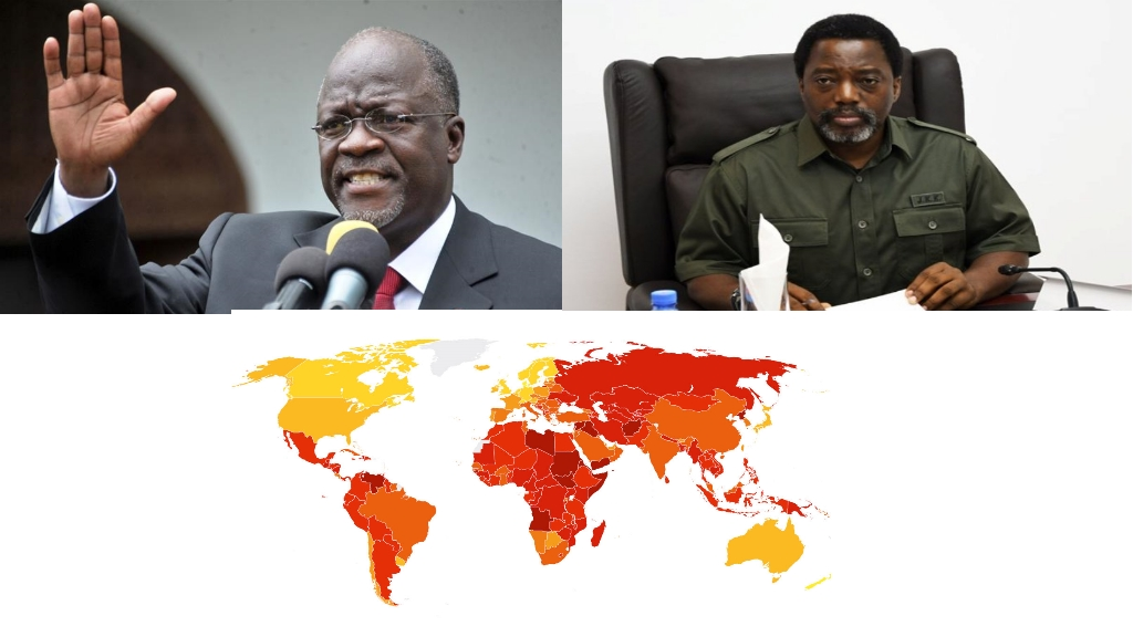 John Magufuli  et Joseph Kabila