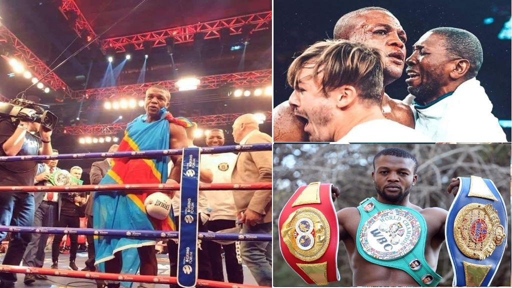 Makabu Ilunga, Boxeur Poids Lourd Congolais