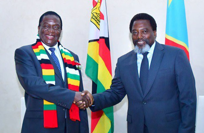 Emmerson Mnangagwa , Joseph Kabila
