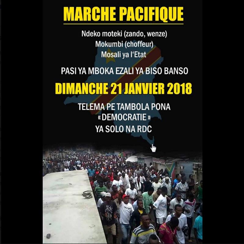 CLC: Marche du 21-01-2018