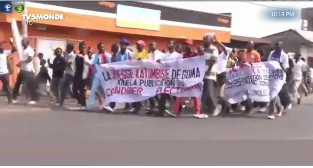 La Jeneusse Katumbiste en Marche