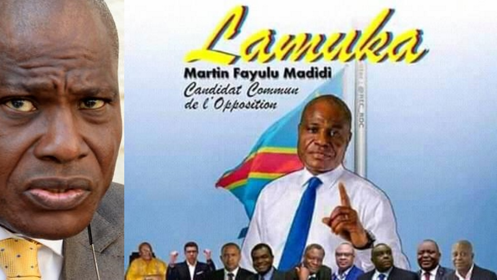 Martin Fayulu, de la Plateforme Lamuka