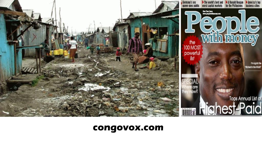 Joseph Kabila et la richesse du Congo