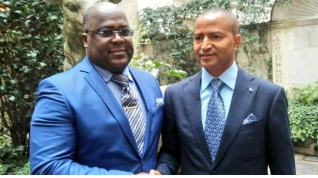 Felix Tshisekedi et Moise Katumbi