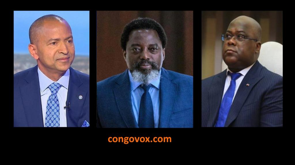 Moise Katumbi, Joseph Kabila, Felix Tshisekedi