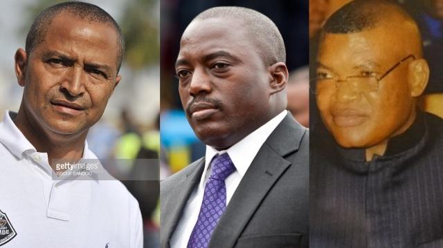 Moise Katumbi, Joseph Kabila, Kalev Mutond (ANR)
