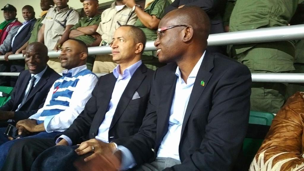 Moise Katumbi Tchapwe en Zambie au Cours du Match de U20
