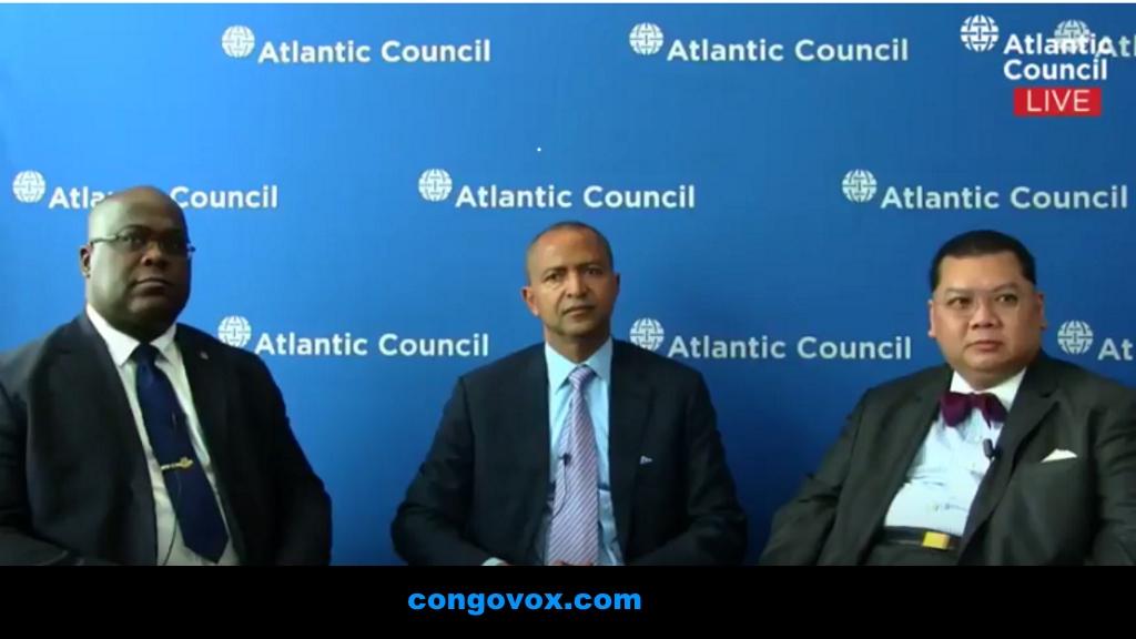 Felix Tshisekedi, Moise Katumbi, Dr. Pham -- Conseil Atlantique