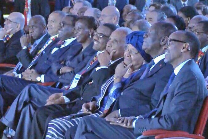 Moise Katumbi, Alasane Diawara, Paul Kagame