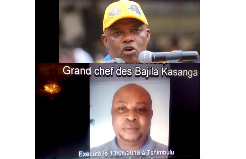 le Chef Kamwina Nsapu et Evariste Boshab
