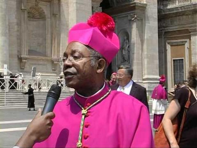 de l'Archevêque de Lubumbashi, Monseigneur Jean-Pierre Tafunga
