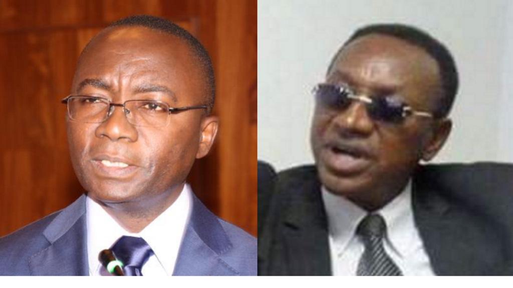 Néhémie Mwilanya et Bruno Tshibala