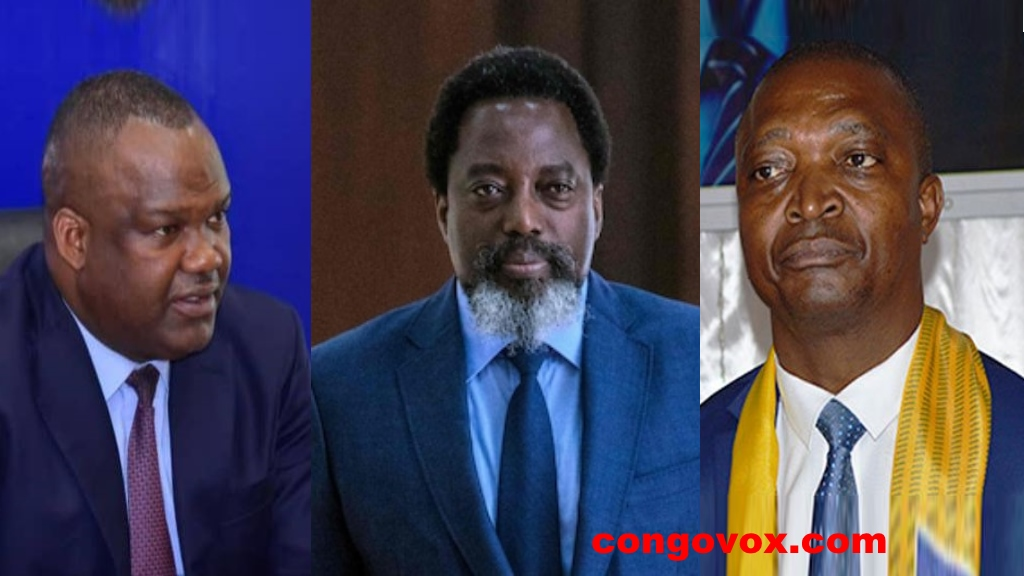 Corneille Nangaa , Joseph Kabila, Emmanuel Shadary