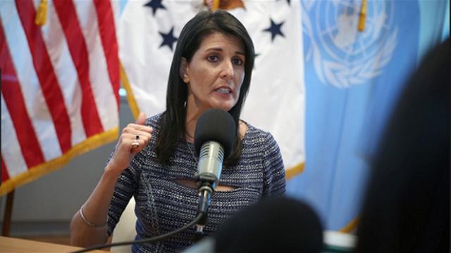 Ambassadrice Nikki Halley