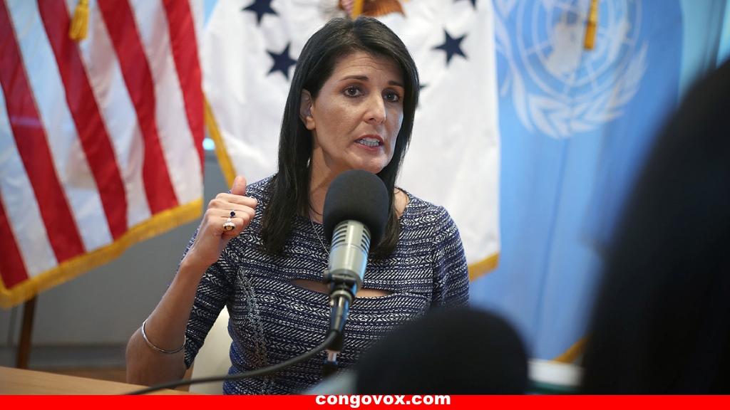 Ambassadrice Nikki Haley