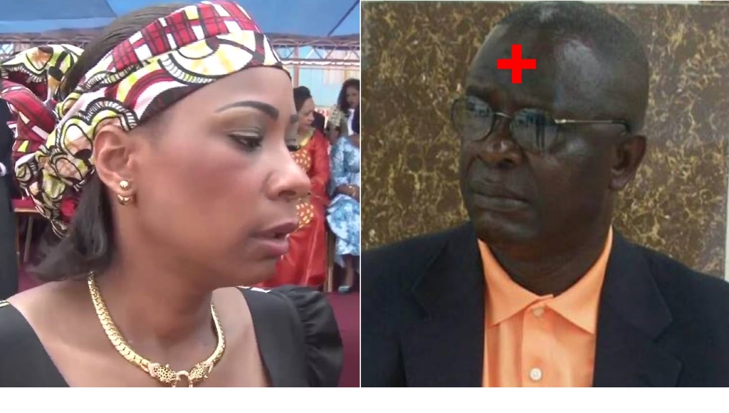 Madame Olive Lembe Kabila et Kambere James Nzumuka (Bourgmestre de la Commune urbaine de Goma)