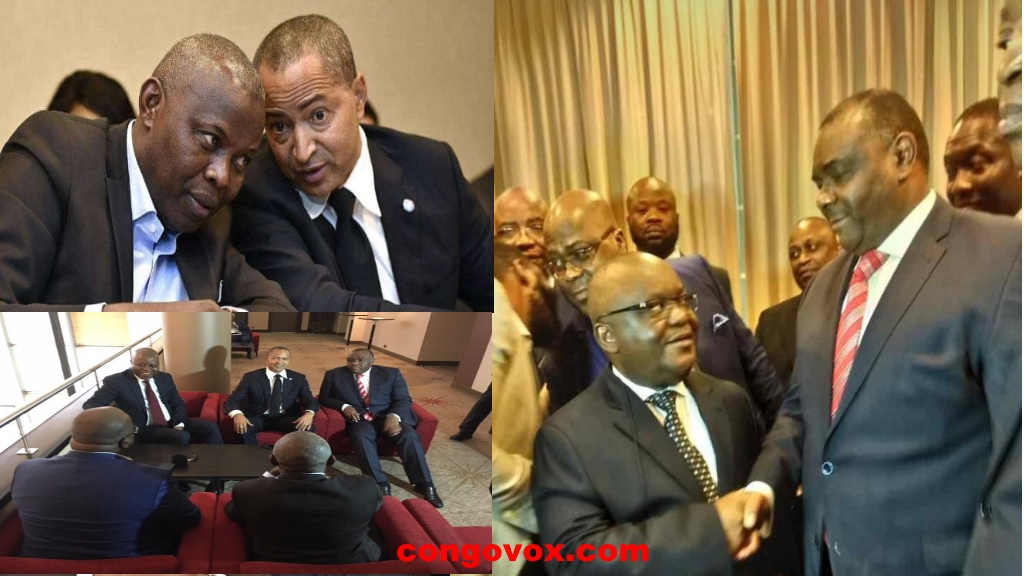 Les leaders de l'opposition Congolaise