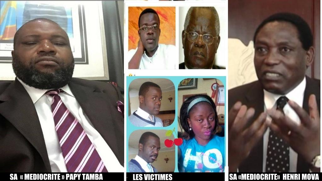 Aubin Minaku, Henri Mova, Papy Tamba, Le Cardinal Monsengwo, Yves Monsengo