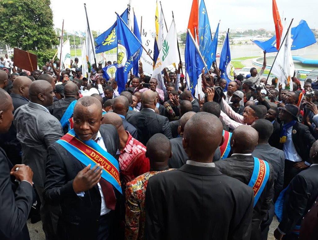 RD Congo: Les deputés au Parlement 11 décembre 2017