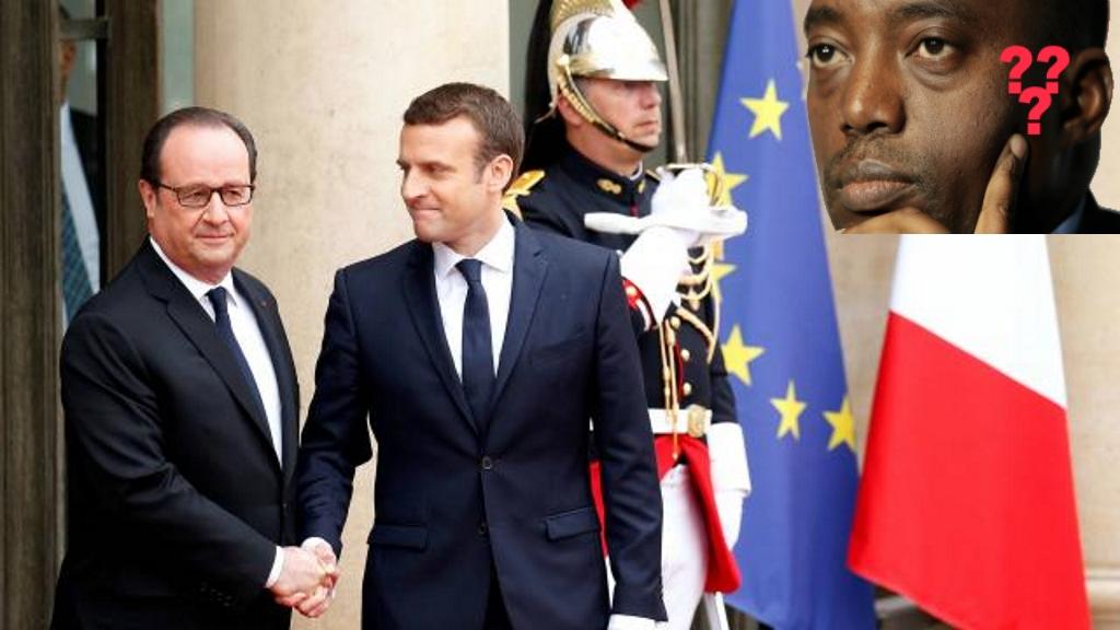 Emmanuel Macron - Passation du Pouvoir en France