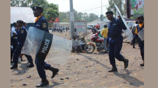 La police Congolaise